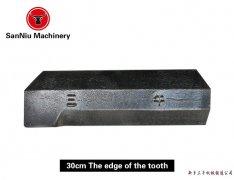 30 cm side teeth